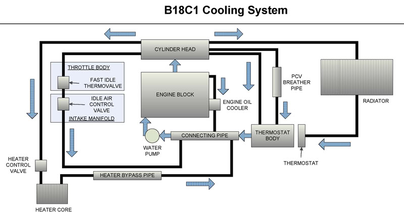 Honda Cools System Diagram - Electrical Work Wiring Diagram •